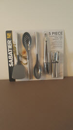 5 Piece Stainless Steel Kitchen Tool and Gadget Set