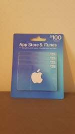 8 $25 iTunes Gift Cards