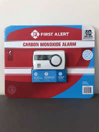 First Alert battery-powered carbon monoxide alarm