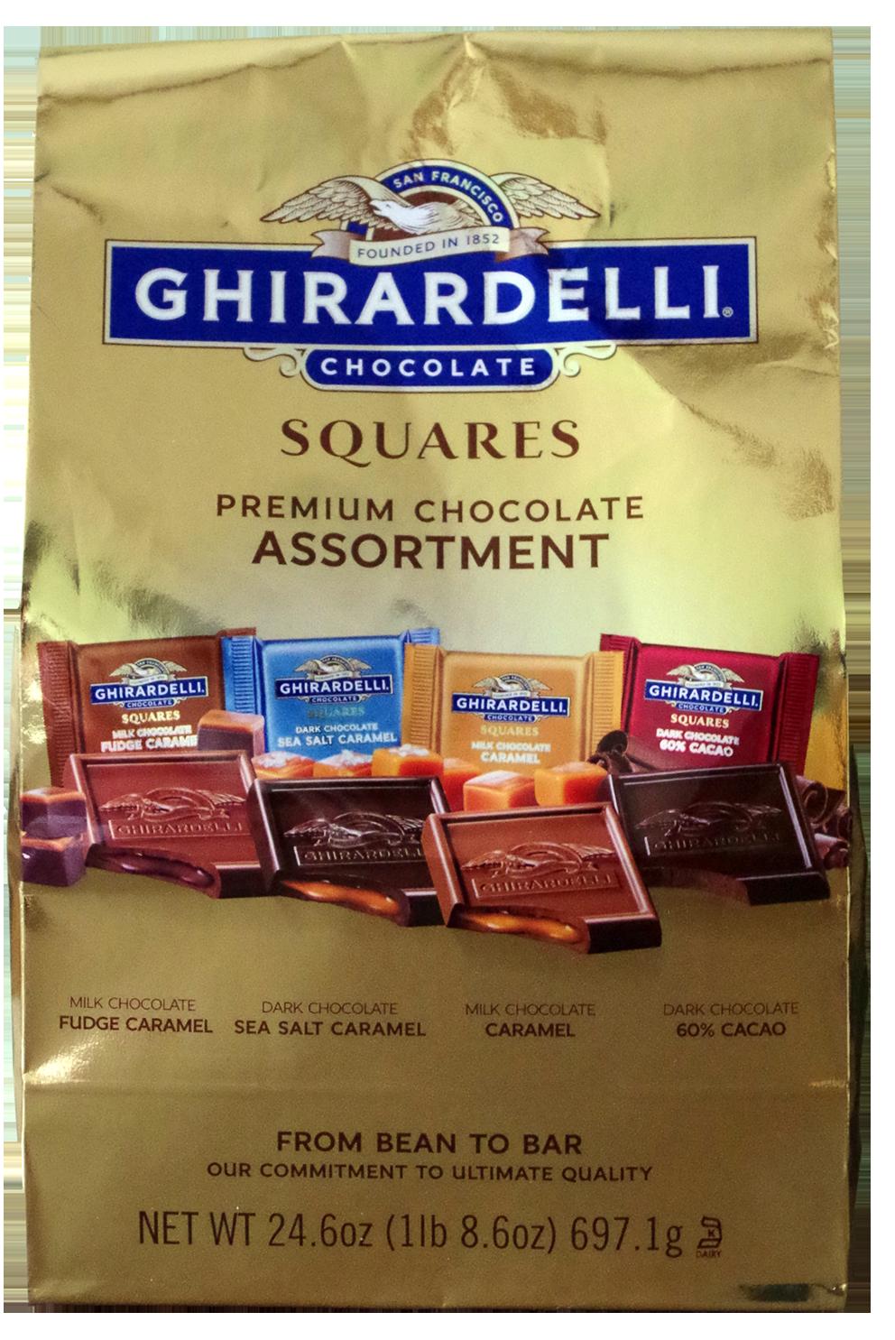 Ghirardelli chocolate squares assortment - 24.6 oz