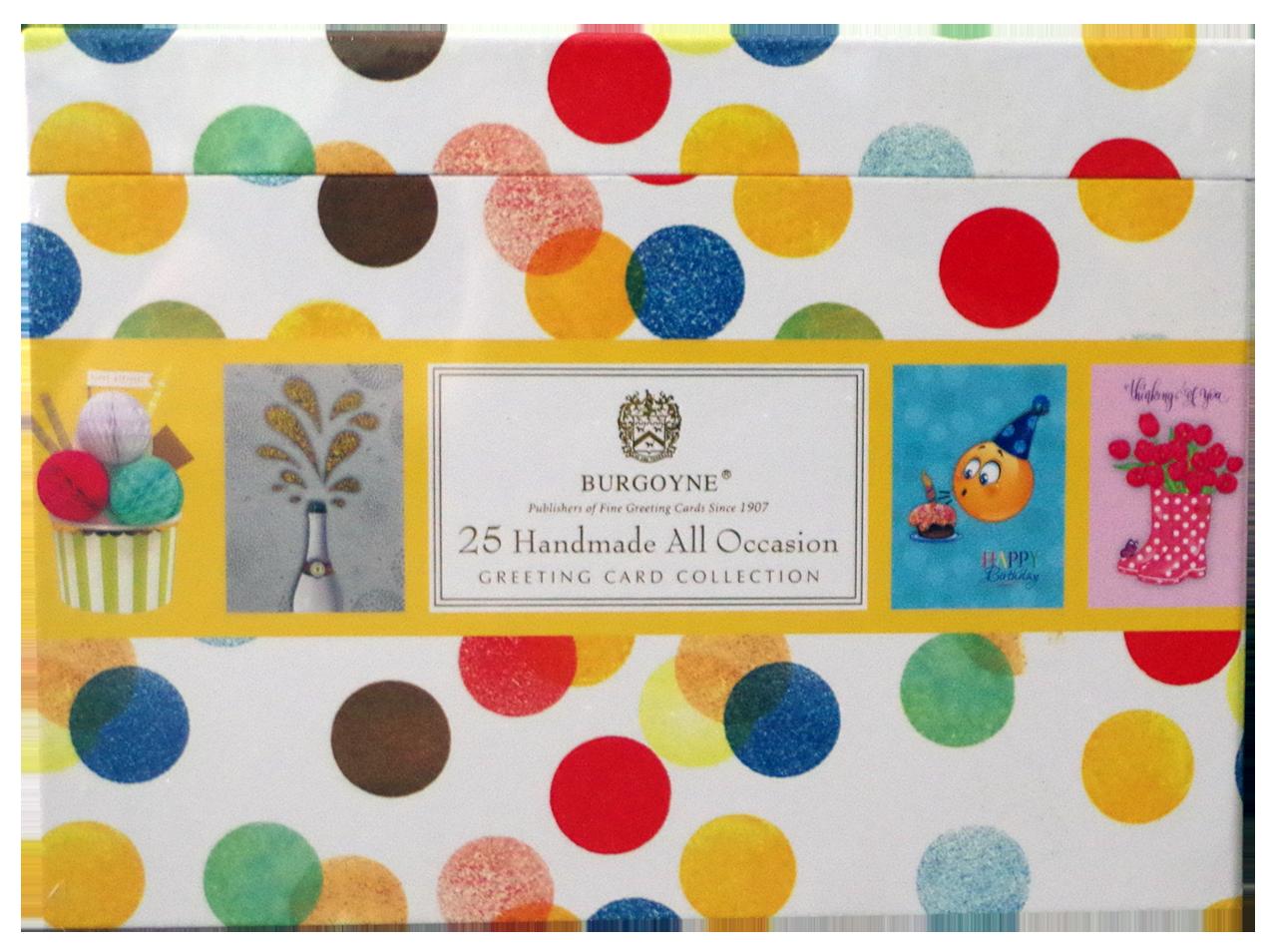 Burgoyne 25 handmade all occasion cards