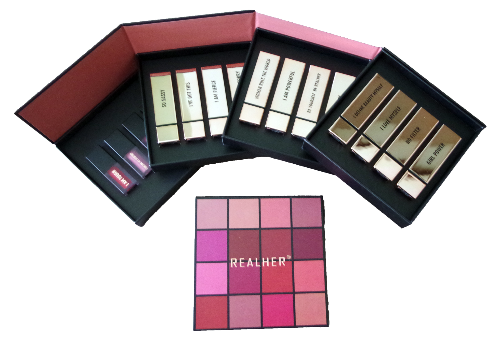 RealHer 16-piece lipstick collection